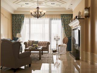 托斯卡尼.Giorno Tuscan Giorno 理絲室內設計有限公司 Ris Interior Design Co., Ltd. 客廳 Beige
