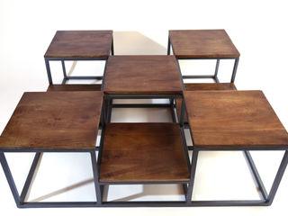 La Boutique Paris Living roomSide tables & trays Metal Grey