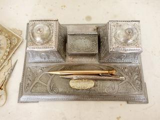 Maisondora Vintage Living Studeerkamer/kantoorAccessoires & decoratie Metaal Metallic / Zilver