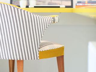 Adriana Leal Interiores RecámarasAccesorios y decoración Compuestos de madera y plástico Amarillo