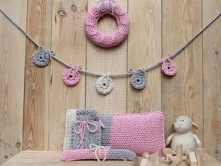 trzy manufaktury Nursery/kid's roomAccessories & decoration Pink