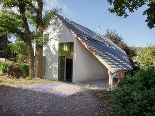 Einfamilienhaus Schöne Aussicht Planungsgruppe Korb GmbH Architekten & Ingenieure Moderne Häuser Holz Weiß
