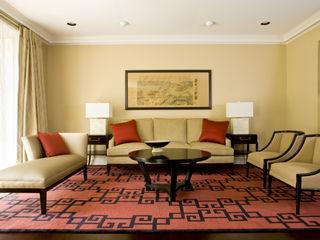 Lorna Gross Interior Design Living room Red
