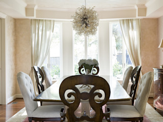 Lorna Gross Interior Design Dining room Beige