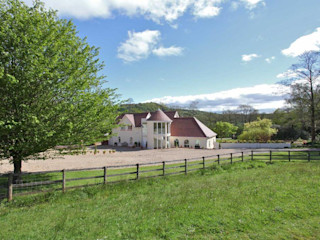 Draethen Farm House Conversion Smarta 庭院