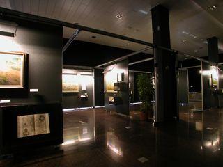 ibedi laboratorio di architettura Museums Iron/Steel Amber/Gold