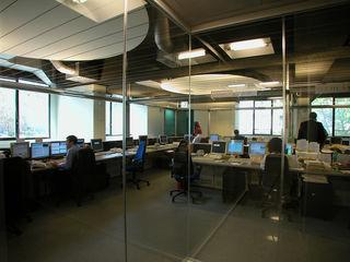 ibedi laboratorio di architettura Office buildings Engineered Wood Grey