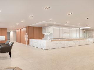 RAW DESIGN STUDIO Рабочий кабинет в стиле модерн