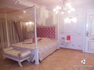 Camere da letto con testiera imbottita Baldantoni Group Camera da letto moderna Legno Rosa