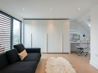 Family Home North London DDWH Architects Dormitorios infantiles modernos: