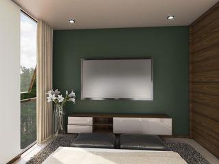 Taller Interno Phòng ngủ phong cách nhiệt đới
