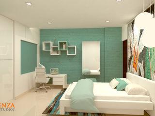 Daughter's Bedroom Kredenza Interior Studios Modern Bedroom