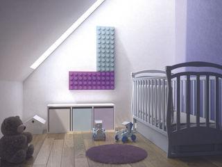 Brick design Marco Baxadonne SCIROCCO H CasaAccessori & Decorazioni Ferro / Acciaio Viola/Ciclamino