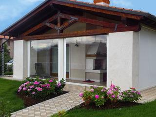 VIP TENDE Modern Houses Aluminium/Zinc Transparent