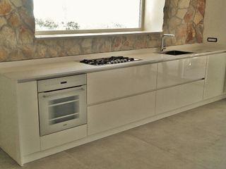 FIDEA SRL Minimalistische Küchen Massivholz Weiß