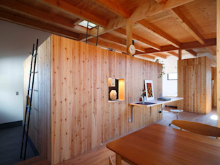 藤井伸介建築設計室 Moderne Esszimmer