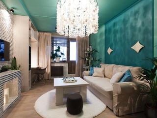 Artcrafts Tropikal Oturma Odası Turkuaz