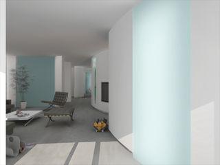 ibedi laboratorio di architettura Living room Glass White