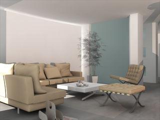ibedi laboratorio di architettura Living room Glass Beige