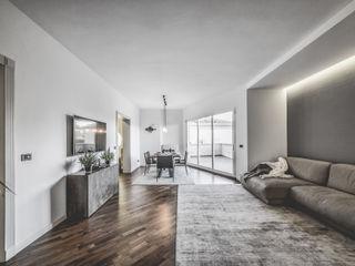 MODO Architettura Minimalist living room