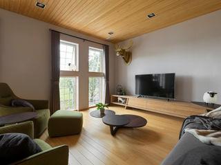 耀昀創意設計有限公司/Alfonso Ideas Asian style living room