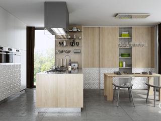Komandor - Wnętrza z charakterem CocinaArmarios y estanterías Aglomerado Acabado en madera