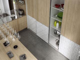 Komandor - Wnętrza z charakterem KitchenCabinets & shelves Chipboard Wood effect