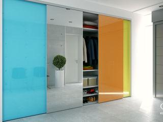 Komandor - Wnętrza z charakterem Corridor, hallway & stairs Clothes hooks & stands Glass Multicolored