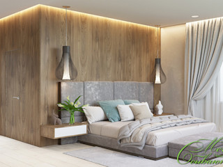 Компания архитекторов Латышевых 'Мечты сбываются' Quartos minimalistas