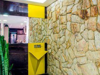 RK Arquitetura & Design BathroomSinks Quartz Yellow