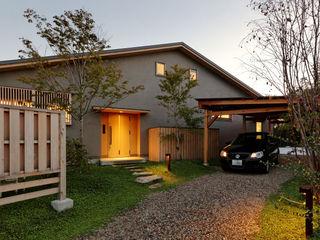 磯村建築設計事務所 Rumah Gaya Asia