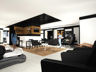 Constructora e Inmobiliaria Catarsis Espacios comerciales Madera Negro