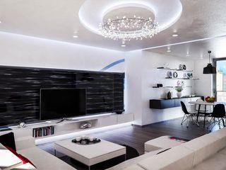 Ortles Denis Confalonieri - Interiors & Architecture Soggiorno moderno