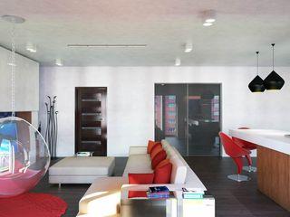Wagner Denis Confalonieri - Interiors & Architecture Sala da pranzo moderna