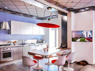 Nova Denis Confalonieri - Interiors & Architecture Sala da pranzo moderna