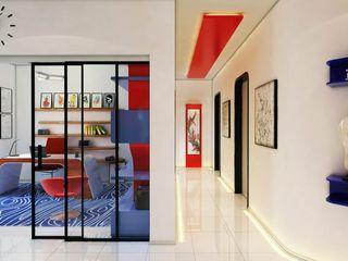 Phell Residence Denis Confalonieri - Interiors & Architecture Soggiorno moderno