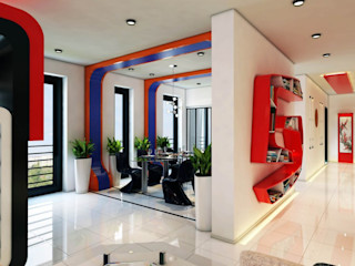 Phell Residence Denis Confalonieri - Interiors & Architecture Sala da pranzo moderna
