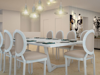 CONTRASTE INTERIOR Classic style dining room