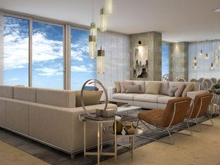 CONTRASTE INTERIOR Modern living room