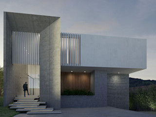 CASA A145 HAC Arquitectura Casas modernas Concreto