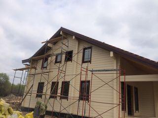 Дом из клееного бруса Техно-сруб Дома в классическом стиле Дерево