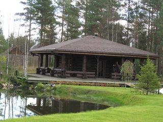 Солнечное Техно-сруб Дома в рустикальном стиле Дерево