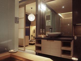 住宅(場域 ●界定) 鼎爵室內裝修設計工程有限公司 浴室 實木 Brown