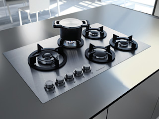 Hobs need not be black: Küppersbusch offers the right hob for every taste – from black and discreet grey to pure white Küppersbusch Hausgeräte GmbH CocinaElectrónica