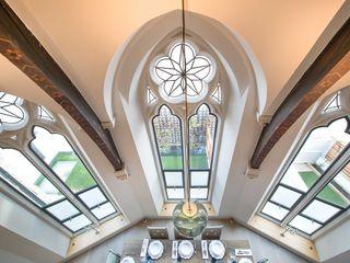 Steel Windows at The Sanctuary, Battersea, London Clement Windows Group Janelas e portas modernas