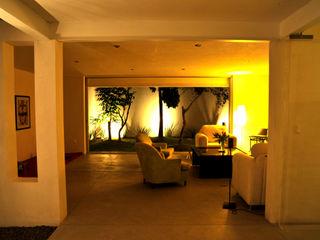 Taller A3 SC Modern Living Room Concrete White