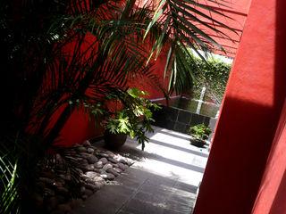 Taller A3 SC Modern Corridor, Hallway and Staircase Stone Brown