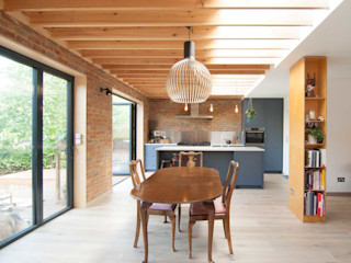 Epsom Bradley Van Der Straeten Architects Ruang Makan Modern
