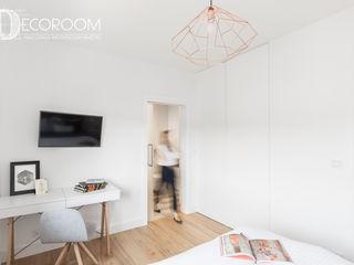 Pracownia Architektury Wnętrz Decoroom Camera da letto moderna