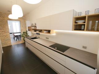 Conception et aménagement d'une cuisine Myriam Wozniak Architecture et décoration Cuisine minimaliste